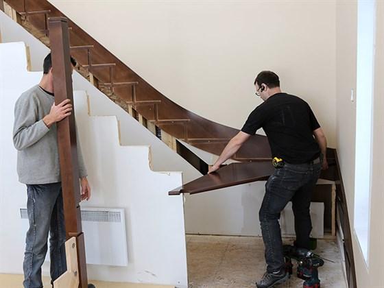 Элементы деревянной лестницы Часть 1