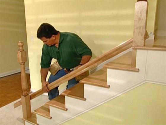 Элементы деревянной лестницы Часть 2