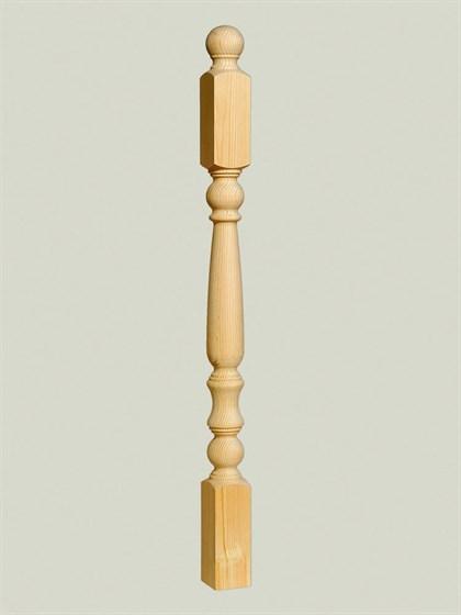 Столб Яблоко - 90х90 Сорт A - фото 5334