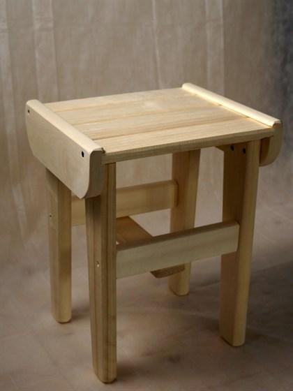 Табурет деревянный высокий Арт.- 2314 | Барабашка - Строй
