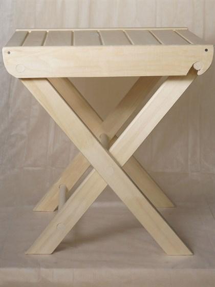 Стол раскладной 50x60 осина - фото 7323