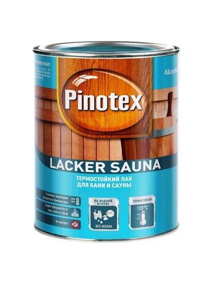 Лак Pinotex Lacker Sauna 20 на водной основе 1л - фото 7760