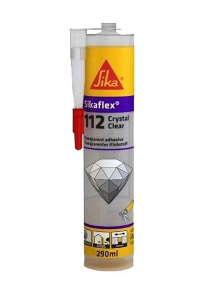 Прозрачный Герметик-клей Sikaflex® 112 Cristal Clear - фото 7789