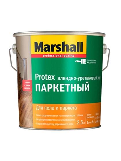 Лак Marshall PROTEX Parke Cila 40 полуматовый 2,5л - фото 7791