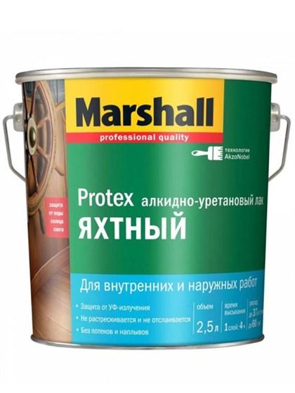Лак Marshall PROTEX Яхтный полуматовый 2,5л - фото 7801