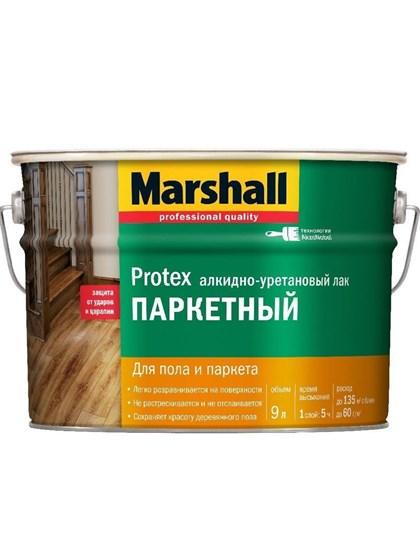 Лак Marshall PROTEX Parke Cila 40 полуматовый 9л - фото 7803