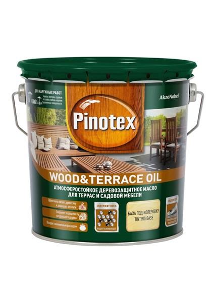 Масло Pinotex Wood&Terrace Oil бесцветное 2,7л - фото 7804