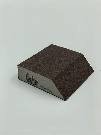 Шлифовальный блок FLEXIFOAM ANGLE BLOCK Р100 - фото 8053