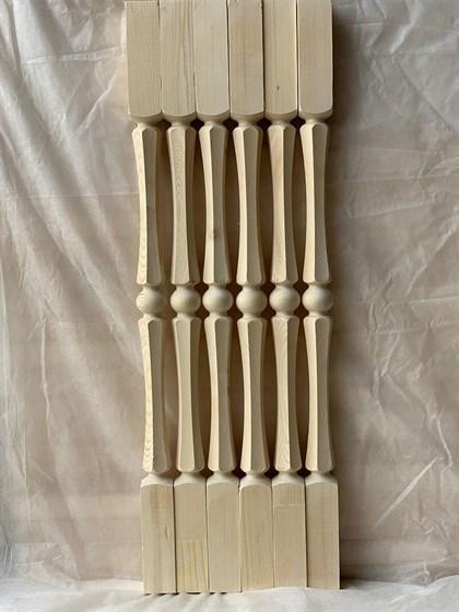 Балясина Грань - Симметрия 50x50 Сорт AB - фото 8334