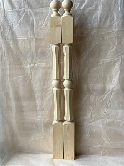 Столб Грань - Симметрия - 80х80 Сорт AВ - фото 8348