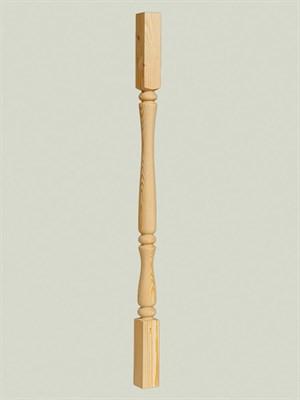 Балясина деревянная Англия - 45x45 Сорт AB