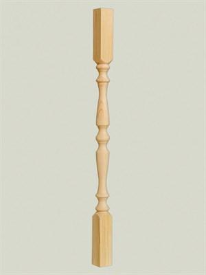Балясина деревянная Симметрия - 60x60 Сорт A - фото 5253