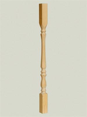 Балясина из дерева Грань - 60x60 Сорт AB