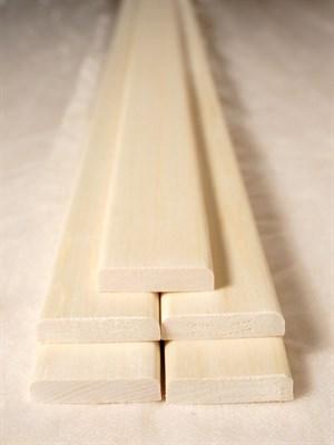 Раскладка гладкая 2500x8x40 осина сорт Экстра