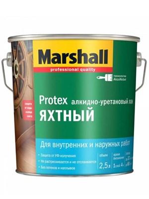 Лак Marshall PROTEX Яхтный полуматовый 2,5л