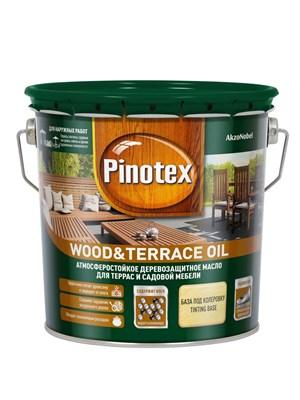 Масло Pinotex Wood&Terrace Oil бесцветное 2,7л