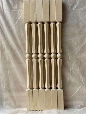 Балясина Грань - Симметрия 50x50 Сорт AB